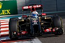 No Q2 for Lotus at Yas Marina