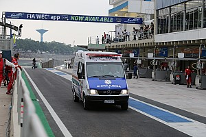 WEC Breaking news Webber and Cressoni to spend night in local hospital