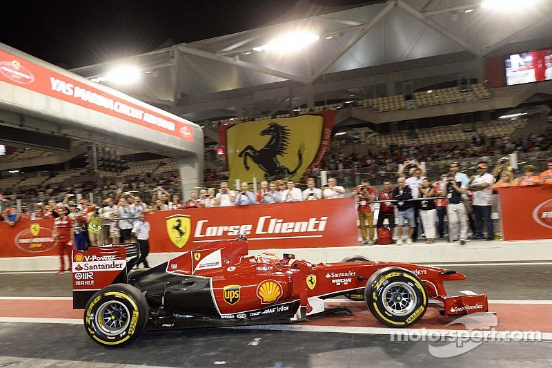 Ferrari drivers awarded at Ferrari World