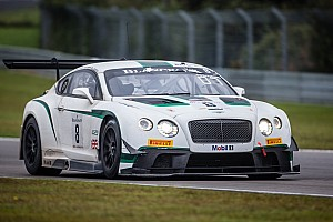 Blancpain Endurance Breaking news Bentley Motorsport announces full 2015 schedule
