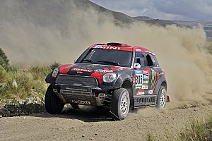 Dakar Stage report Terranova shines as De Villiers inches closer to the lead