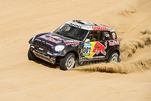 Dakar leaders with three days remaining