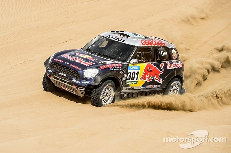 Dakar leaders with three days remaining
