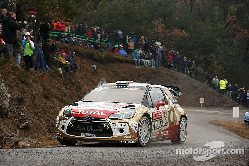 Sébastien Loeb and Daniel Elena lead the Rallye Monte-Carlo!