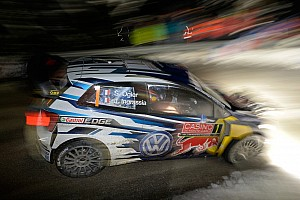 WRC Stage report Ogier leads, Loeb breaks in Monte Carlo
