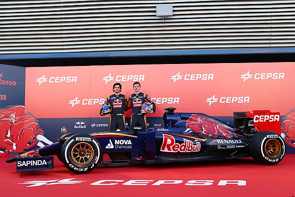 Toro Rosso reveals 2015 car for stellar rookie pairing