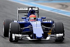 Formula 1 Testing report Another positive day for Sauber at Jerez