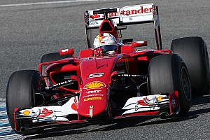 Formula 1 Breaking news Photographer notices new Ferrari paint for 2015