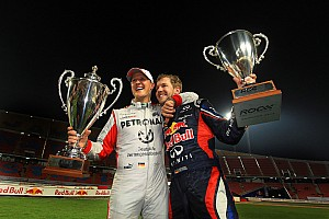 Vettel plays down Schumacher comparison