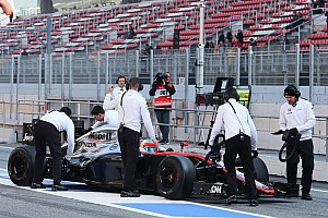 Formula 1 Breaking news New McLaren-Honda is '50 percent behind' its plan