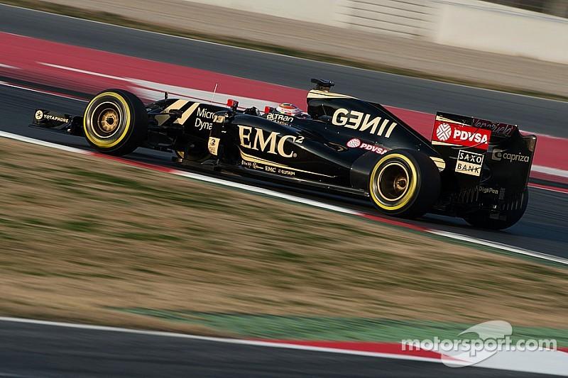 Lotus' Maldonado continues his impressive form on the third day at Barcelona