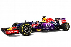 Formula 1 Breaking news Red Bull Racing unveils 2015 F1 livery