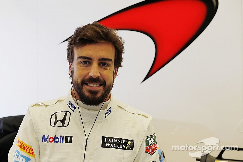 Alonso working on fitness amid 'science fiction' stories