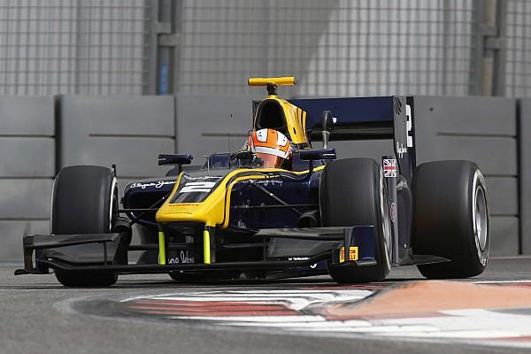 Lynn keeps DAMS on top in Abu Dhabi test