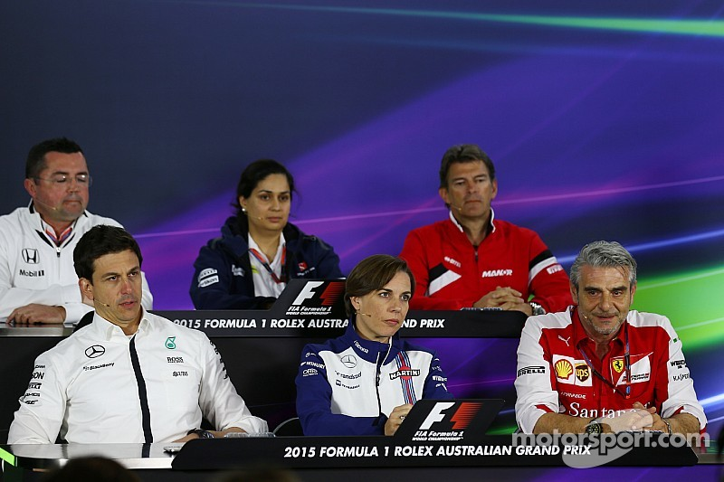 Australian GP: Friday press conference