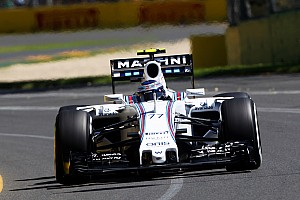 Williams has a productive Friday practice for the Australian GP