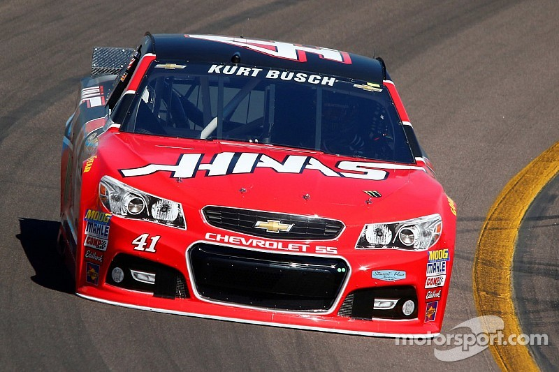 Kurt Busch quickly up to speed in return to NASCAR Sprint Cup Series racing