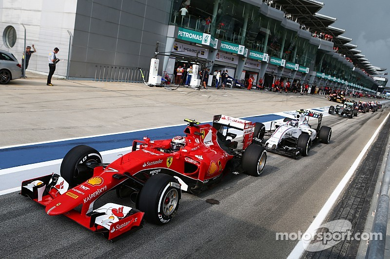 Malaysian GP 2015 - Starting grid
