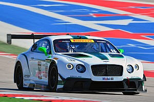Two World Challenge races in four days for Bentley Team Dyson Racing