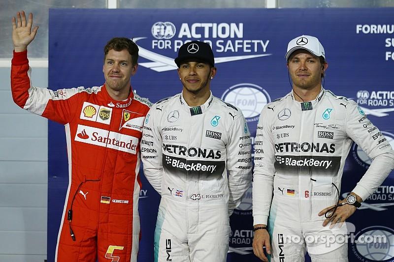 Vettel cerca de Hamilton y arriba de Rosberg en las apuestas