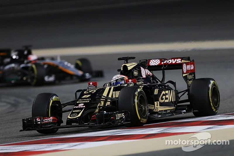 Lotus' Grosjean drove a strong and measured Bahrain GP to finish seventh