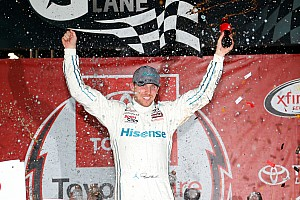 NASCAR Sprint Cup Analysis What a difference a week makes for Denny Hamlin
