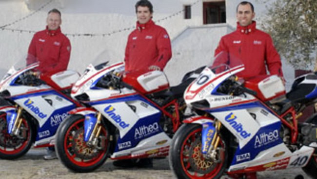 WSBK 2010: ecco il Team Althea Racing