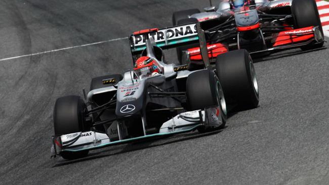 Mercedes a passo corto a Montecarlo