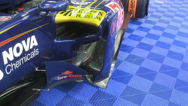 Toro Rosso: niente doppio fondo e sospensione pull