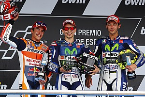 Lorenzo and Marquez present equal threat - Rossi