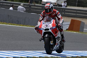 MotoGP Practice report Good start for Andrea Dovizioso in French GP