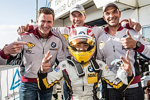 Marc VDS take sensational 24 Hours of Nürburgring pole position
