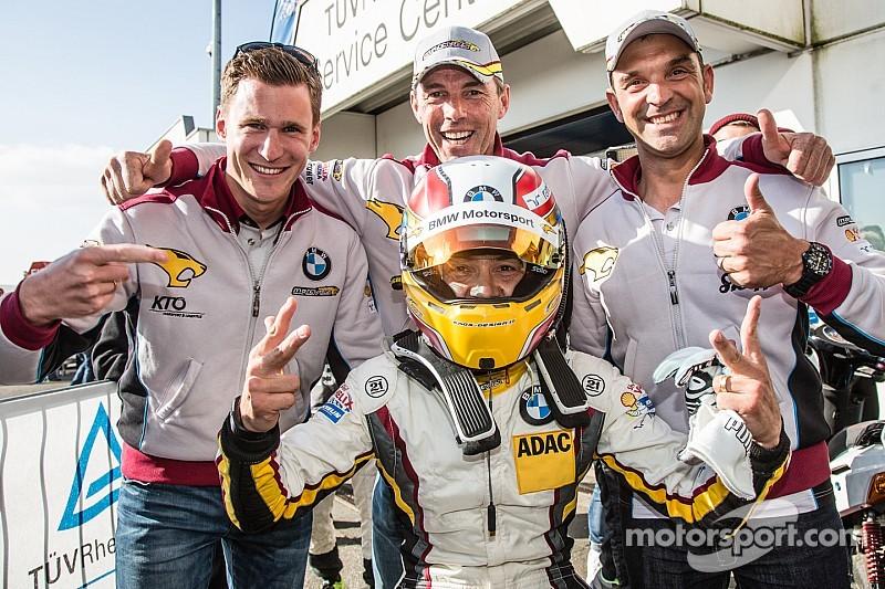 Marc VDS take sensational 24 Hours of Nürburgring pole position