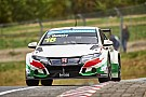 Honda returns to the podium with Tiago Monteiro at Nürburgring