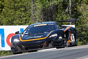 PWC Race report Podium performance for K-PAX Racing with Flying Lizard Motorsports at Mosport