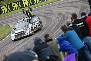 World Rallycross Race report Solberg wins at Lydden Hill and extends World RX championship lead