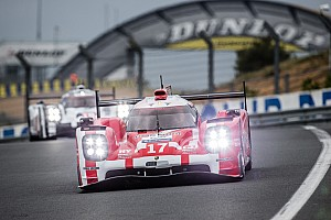 Le Mans Testing report Le Mans Test Day: Porsche tops morning session