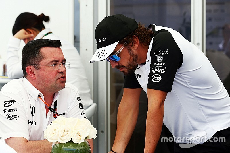 McLaren insiste en que no hay riesgo de crisis con Alonso