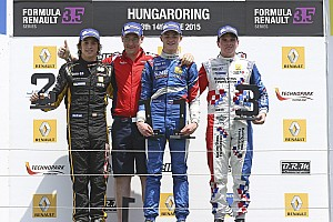 Hungary FR3.5: First win for Orudzhev in Race 1