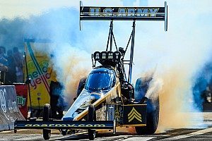 NHRA Qualifying report Schumacher, Johnson Jr. and McGaha top qualifying leaderboard Friday at NHRA New England Nationals