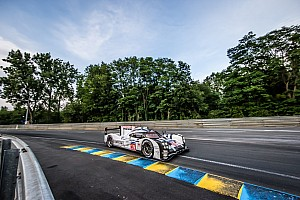 Le Mans 24 Hours: Porsche leading the way three hours from the finish