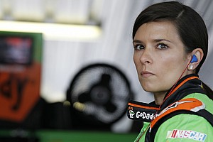 NASCAR Sprint Cup Race report 'Gutsy' pit call gives Danica Patrick 16th