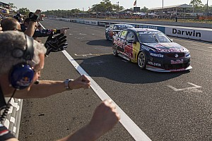 V8 Supercars Breaking news Lowndes hails Darwin developments