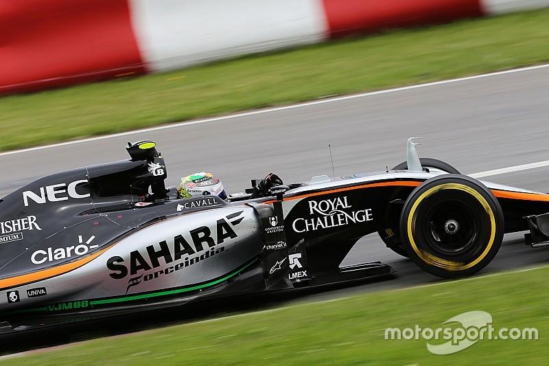Pérez tendrá una mejora de motor para el GP de Austria