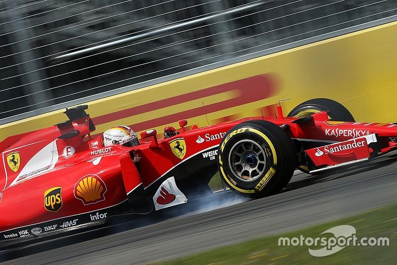 Realistic Vettel admits 'big gap' to Mercedes