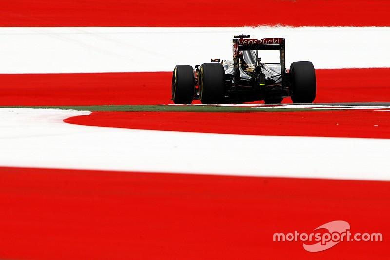 Em dia positivo, dupla da Lotus se anima para GP da Áustria