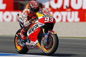 MotoGP Qualifying report Front row start for Marquez with Pedrosa 4th in closely contested qualifying
