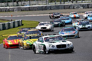 GT Race report Another historic moment at Okayama as Bentley takes maiden victory