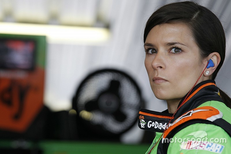 Danica Patrick tops Daytona Happy Hour practice