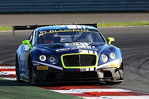Blancpain Sprint Race report First win for Vincent Abril and Maxi Buhk in the HTP Bentley Continental GT3